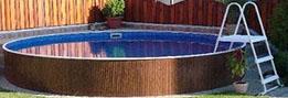 Montáž bazénu azuro 400